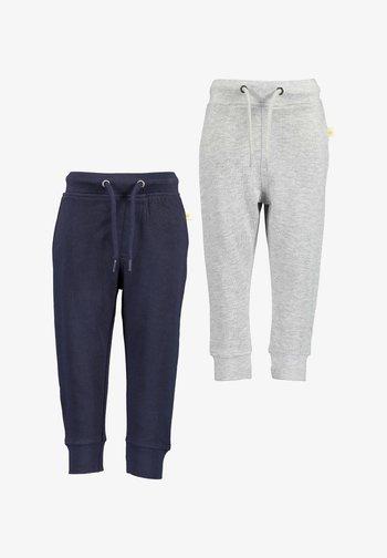 BASICS - Spodnie treningowe -  nachtblau nebel