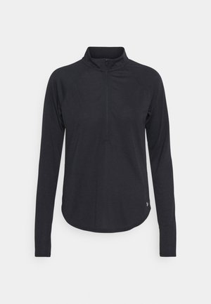STREAKER HALF ZIP - Long sleeved top - black