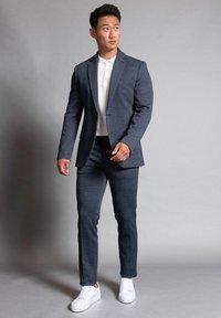 WORMLAND - Suit trousers - blau - 1