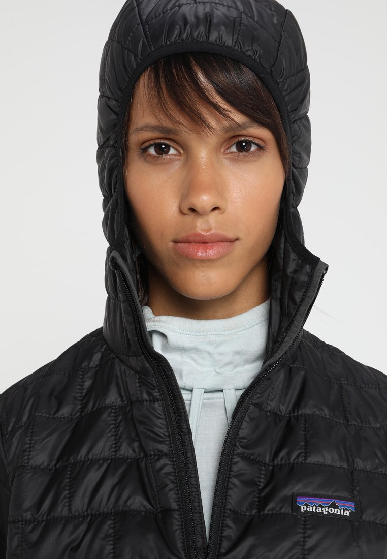NANO PUFF HOODY Outdoorjacke black