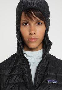 Patagonia - NANO PUFF HOODY - Outdoor jacket - black - 4
