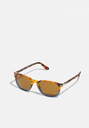UNISEX - Sunglasses - brown tortoise/opal blue