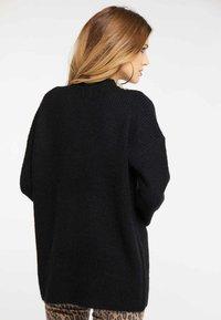 faina - Pullover - black - 2
