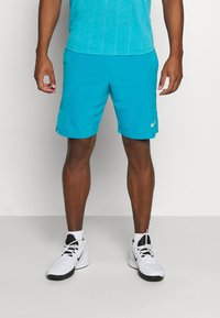 Nike Performance - FLX ACE - Pantalón corto de deporte - neo turquoise/white - 0