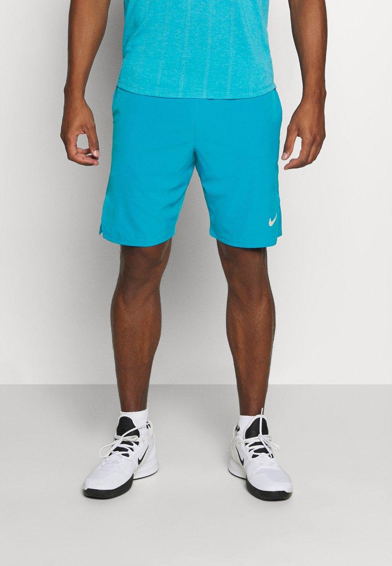 Nike Performance - FLX ACE - Pantalón corto de deporte - neo turquoise/white