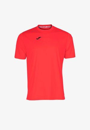 FUSSBALL - TEAMSPORT TEXTIL  COMBI  KURZARM - Camiseta básica - orange