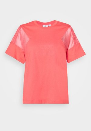 Print T-shirt - magic pink
