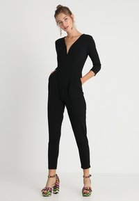 WAL G. - LONG SLEEVE - Jumpsuit - black - 1