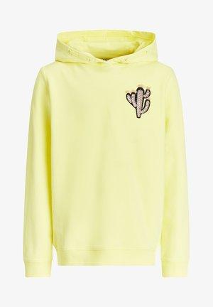 REGULAR FIT - Hoodie - yellow