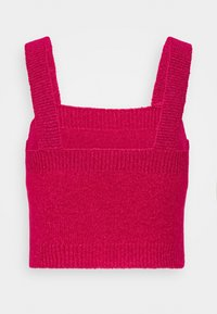Who What Wear - CROPPED - Top - magenta - 1