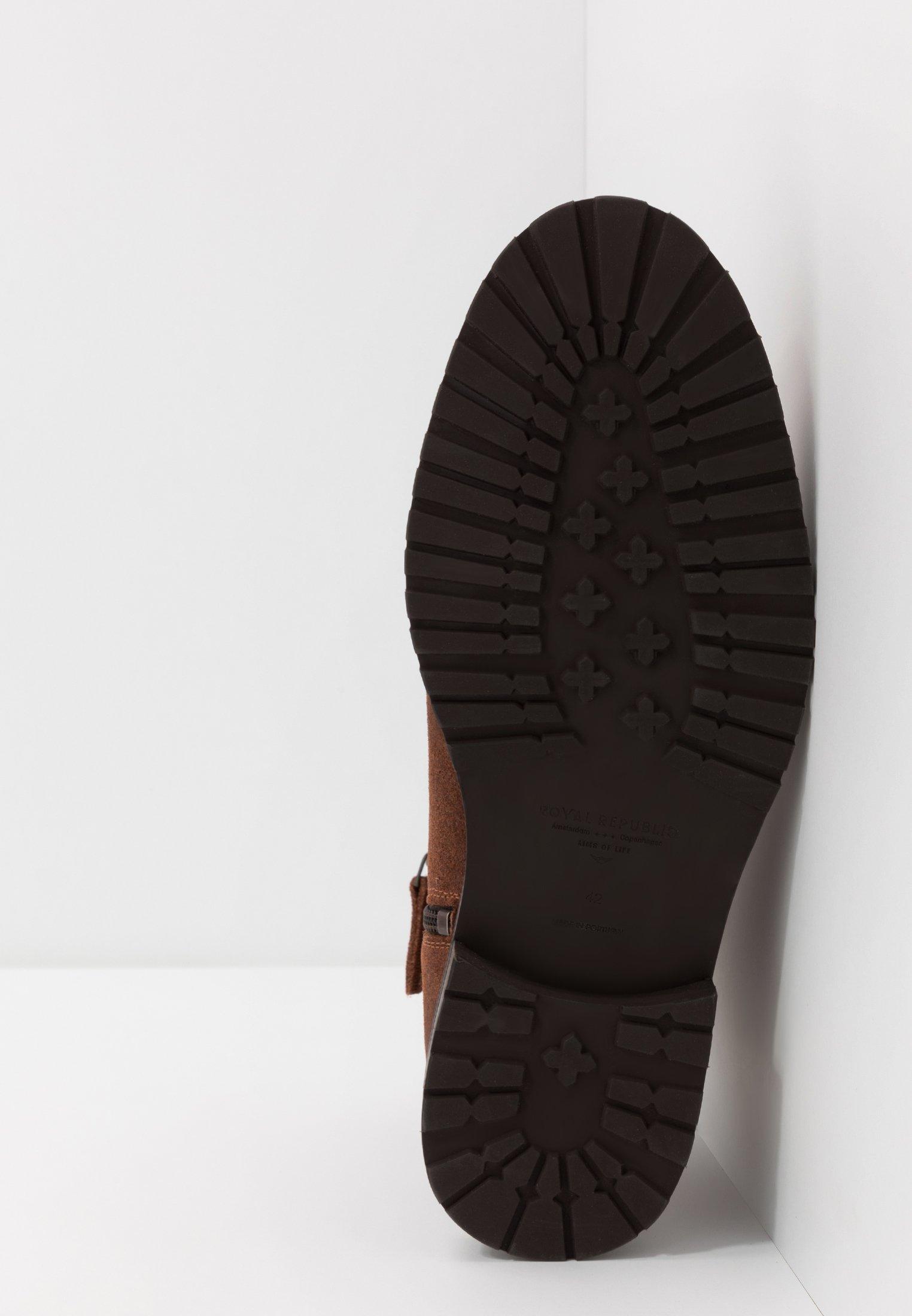 Wholesale Quality Cheapest Royal RepubliQ ALIAS CITY HIKER ANKLE BOOT - Classic ankle boots - tan | men's shoes 2020 b7I2n