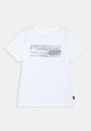 INVERSE TEE BOY - Camiseta estampada - white
