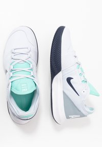 Nike Performance - AIR MAX WILDCARD CLAY - Clay court tennis shoes - football grey/midnight navy - 1