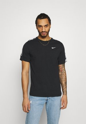 REPEAT TEE  - T-shirts print - black/white