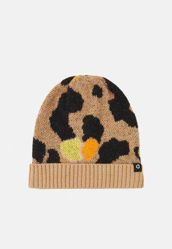 HAT LEOPARD - Lue - brown
