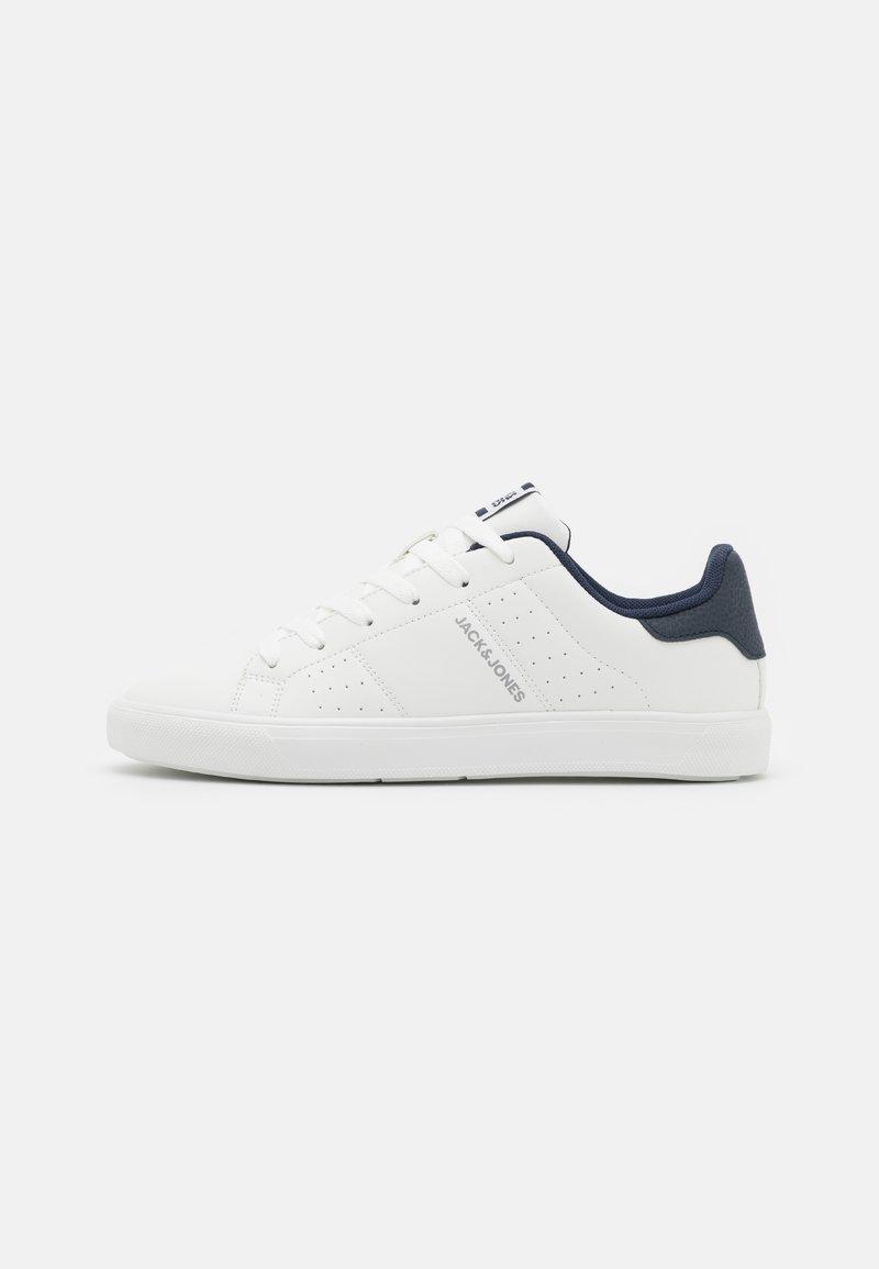 Jack & Jones - JFWEALING - Sneakersy niskie - white/navy blazer