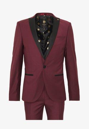 KINGDON SUIT - Suit - bordeaux