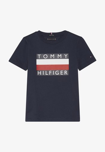 ESSENTIAL TEE - T-shirt imprimé - blue