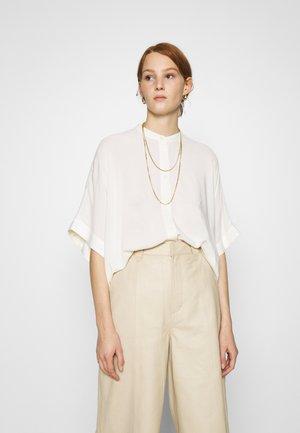 GEORGIA - Button-down blouse - egret