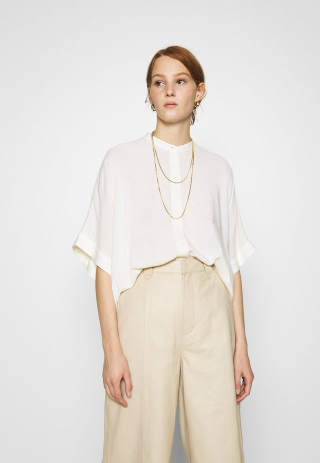 GEORGIA - Button-down blouse - egret