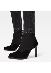 G-Star - MID SKINNY ANKLE - Jeans Skinny Fit - worn in corby black - 5