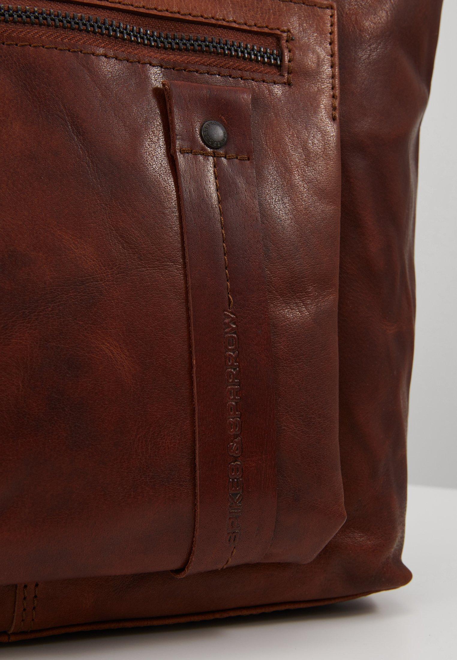 Online Shopping Accessories Spikes & Sparrow Briefcase brandy 4ruHVtVbe