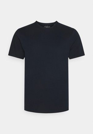 ESSENTIAL CREW NECK TEE - Basic T-shirt - navy