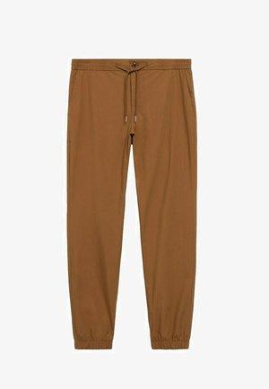ROMA - Pantaloni - tobakksbrun