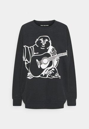CREWNECK BUDDHA - Sweatshirt - black