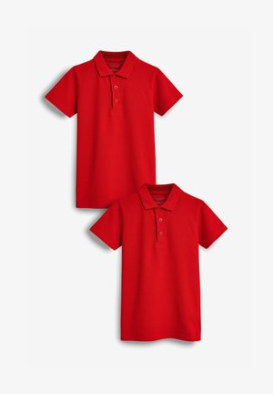 2 PACK - Poloshirt - red