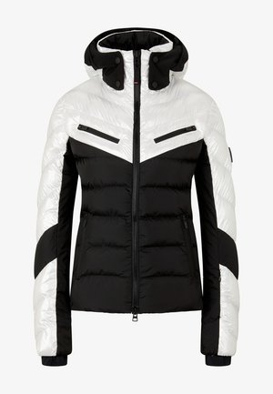 FARINA - Ski jas - schwarz/perl-weiß