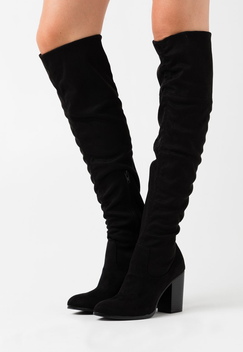 Bullboxer - Over-the-knee boots - black