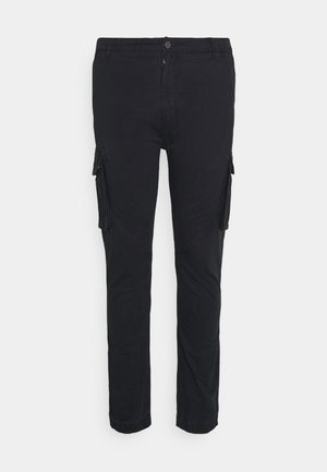 PANTS CROPED - Kapsáče - dusty black