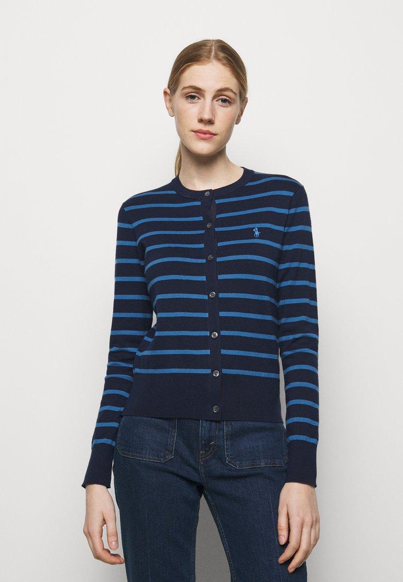 Polo Ralph Lauren - PIMA STRETCH - Cardigan - blue multi