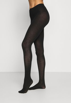 TIGHTS BLEND PLAIN - Tights - black