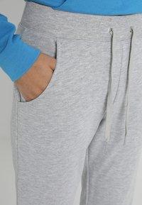 New Look - BASIC BASIC  - Tracksuit bottoms - grey marl - 4