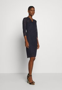 Esprit Collection - DRESS - Cocktail dress / Party dress - navy - 1