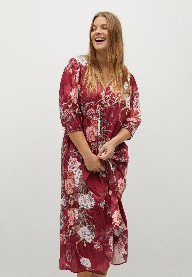 Violeta by Mango - RUG - Day dress - grenat