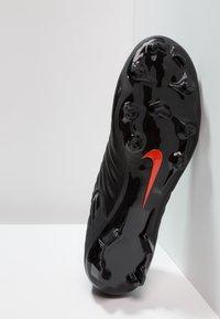 Nike Performance - LEGEND 7 ACADEMY MG - Moulded stud football boots - black/light crimson - 4