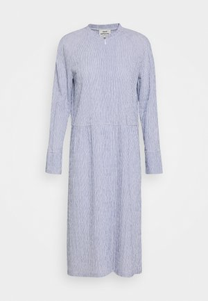 DUPINA - Day dress - light blue/white