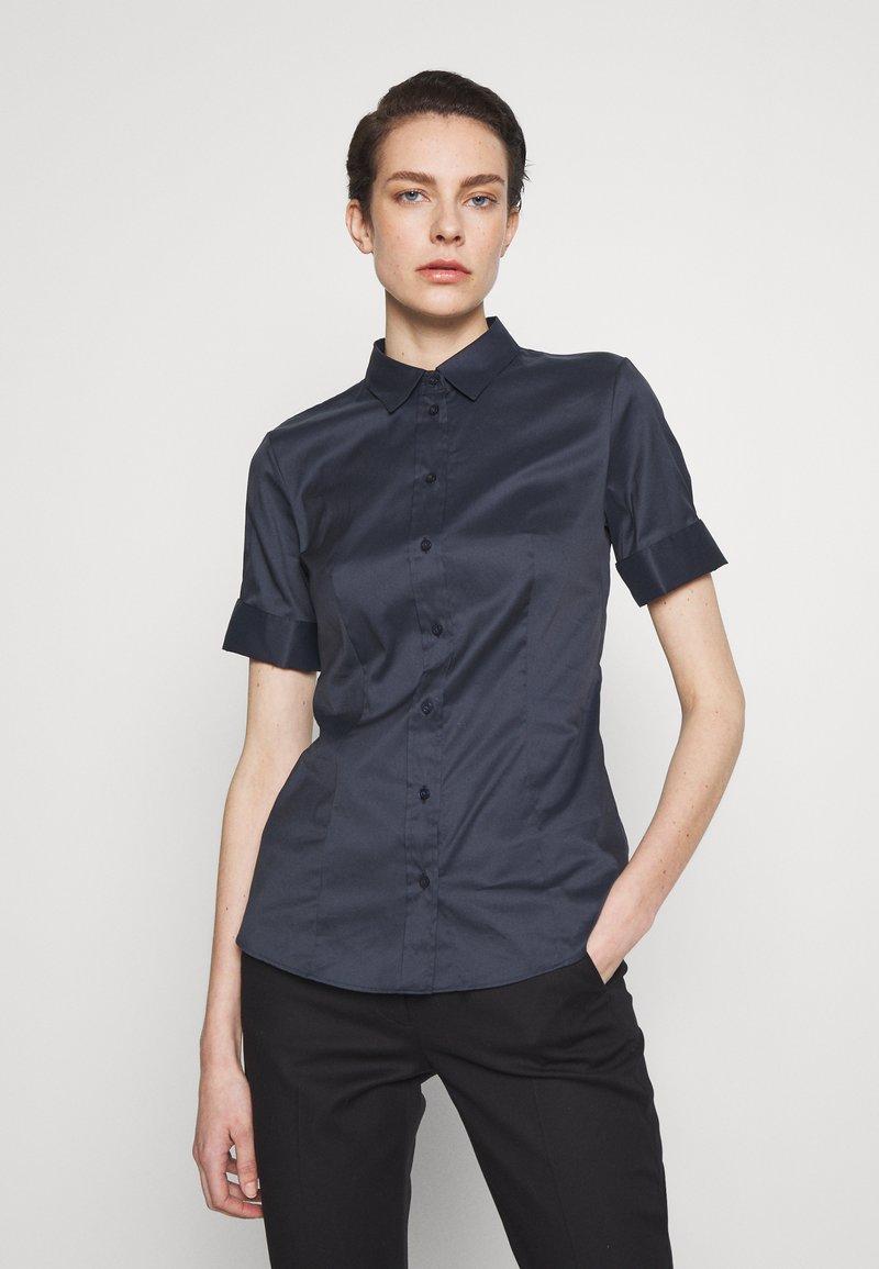HUGO - ESHILA - Button-down blouse - open blue
