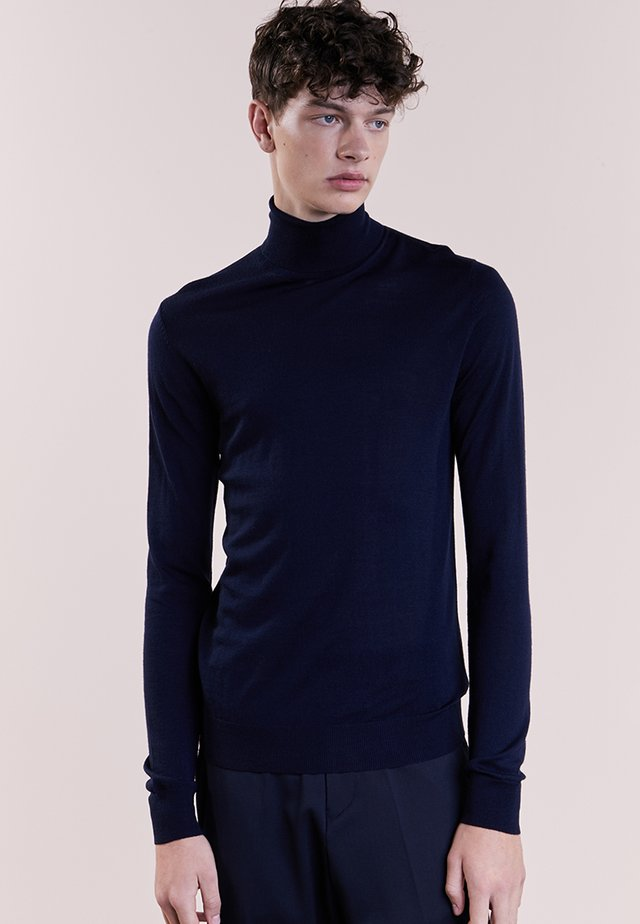 CHARLES ROLL NECK - Jumper - navy