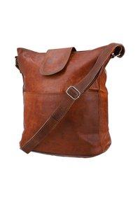 Gusti Leder - Across body bag - braun - 4