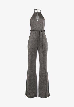 ZENDAYA HALTERNECK - Jumpsuit - dark silver