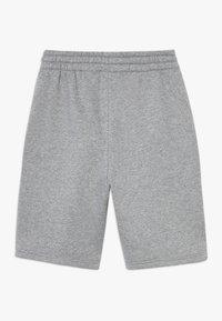 Nike Sportswear - CLUB SHORT - Shorts - carbon heather/smoke grey/white - 1