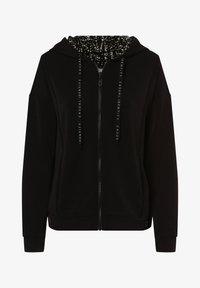 comma - Zip-up sweatshirt - schwarz - 0