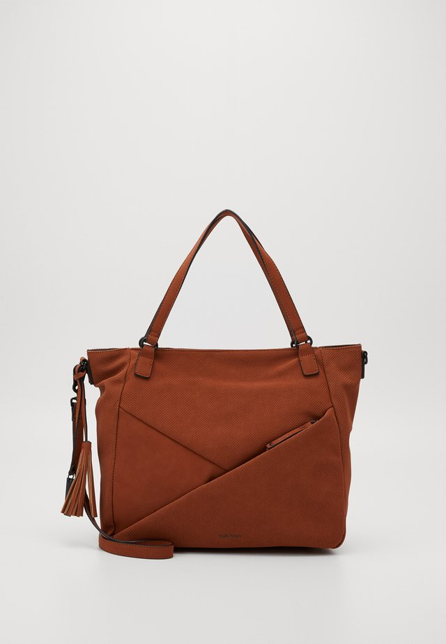 ROMY - Shopping bag - cognac