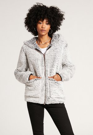 LIL PHUZ - Zip-up sweatshirt - light grey