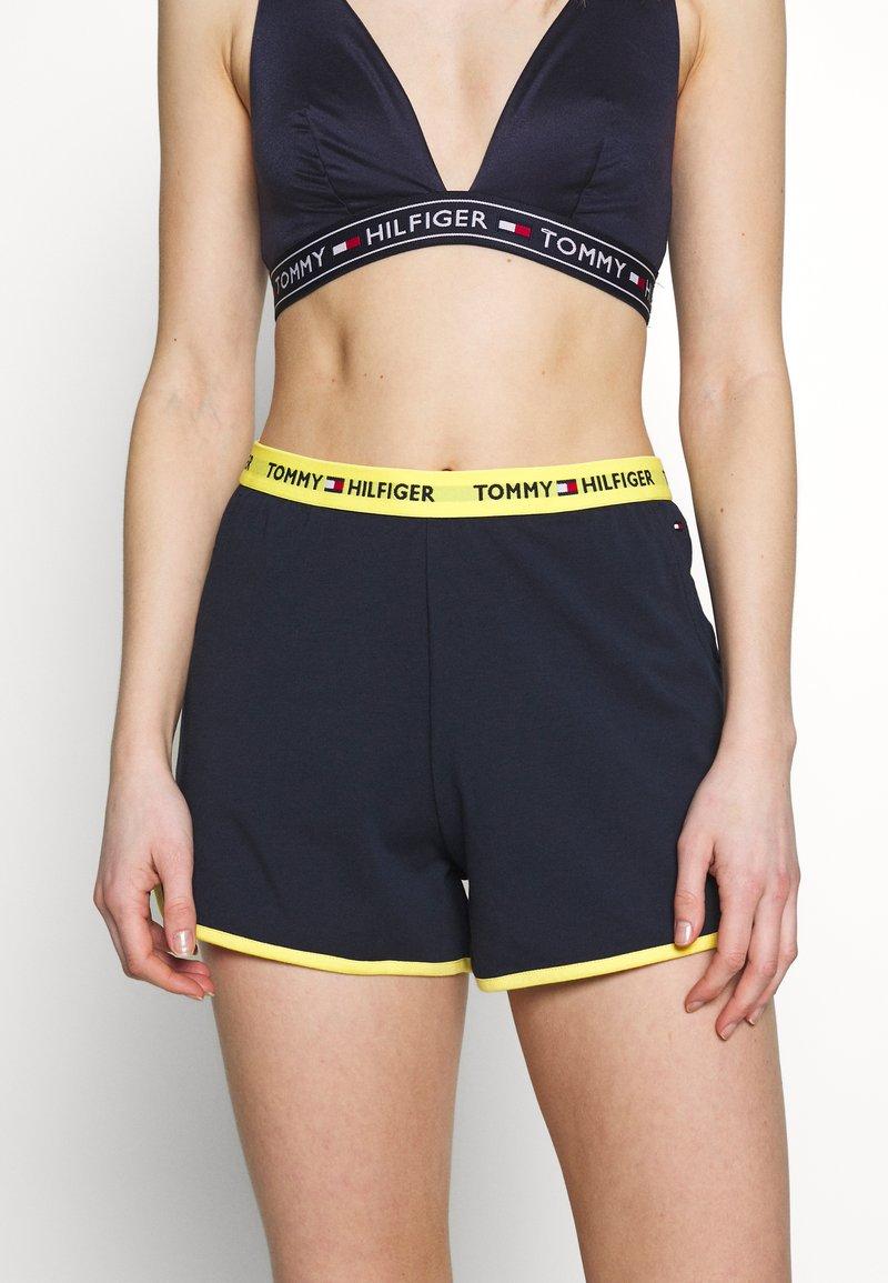 Tommy Hilfiger - SLEEP SHORT - Pyjama bottoms - navy blazer