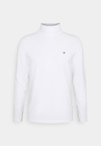 ROLL NECK LONG SLEEVE  - Long sleeved top - white